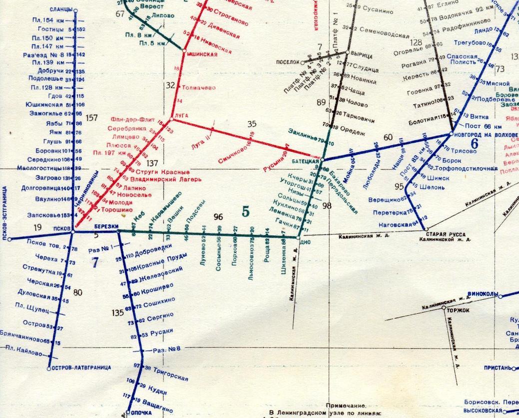 Схема жд станций спб и ло