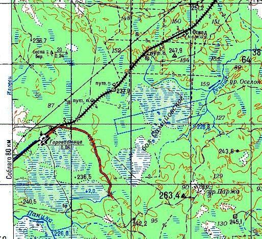 Общая карта железных дорог
